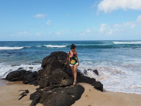 Waimea Beach Bay